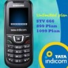 Tata Indicom introduces unlimited plan for CDMA customers at Rs 666, Rs 899, Rs 1099.
