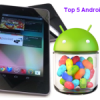 Top 5 latest launched Android Tablets:April-2013