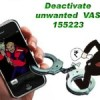 How to deactivate VAS from your Smartphone