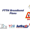 FTTH Broadband plans: Compare Airtel, Tata DoCoMo, BSNL and OTHERS
