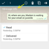 Myth busted : WhatsApp not deliver messages instantly