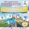 BSNL launches WiFi International Roaming with a weekly pack of Rs 999