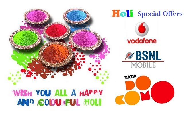 holi  wish card