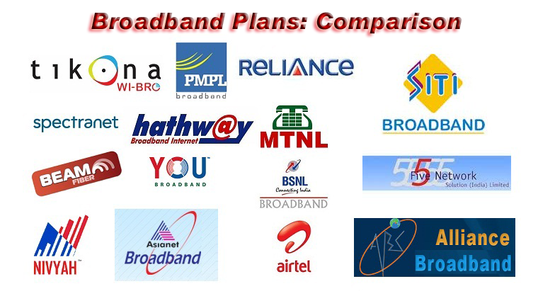 How To Select Broadband Plan Comparison Of Big Players V