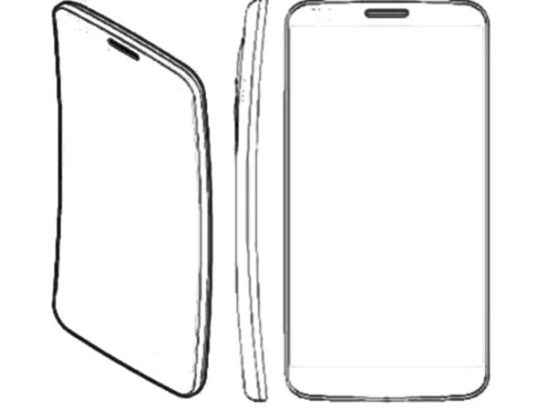 curved smartphone