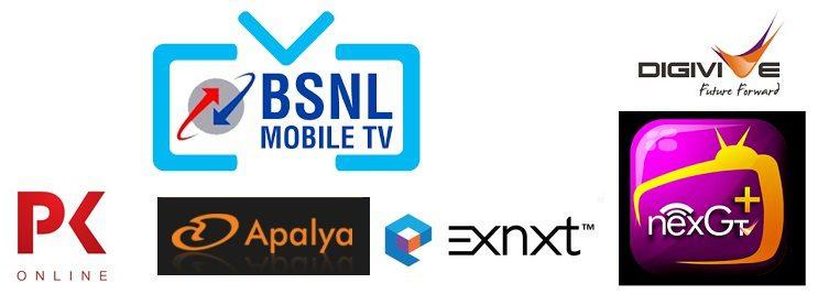 bsnl mobile tv4