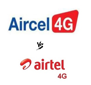 Comparison of 4G LTE plans of Aircel with Airtel - Telecom ...