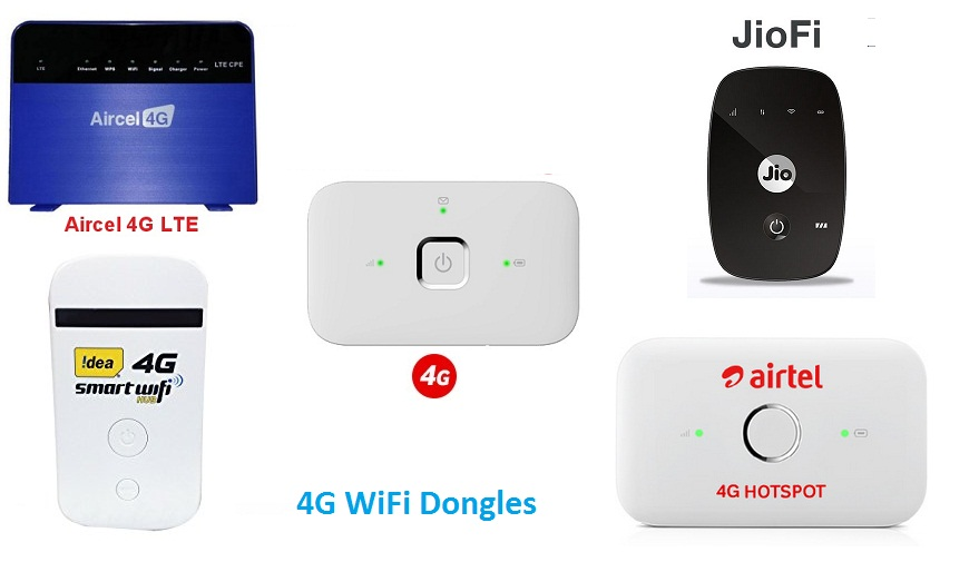 4g lte wifi dongle offers airtel jio vodafone idea and aircel telecom vibe. Black Bedroom Furniture Sets. Home Design Ideas