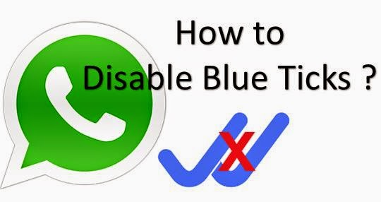 Why and how to disable double Blue ticks Read receipt of ...